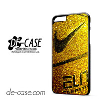 Nike Basketball Ball Gold Glitter DEAL-7777 Apple Phonecase Cover For Iphone 6/ 6S Plus