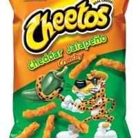 Cheetos, Cheddar Jalapeno Crunchy - 8.5 oz (Pack of 4)