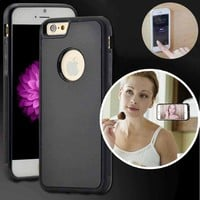 Anti Gravity Nano Suction Case for iPhone 5 5S SE 6 6s/6 6s Plus Samsung Galaxy S7 Edge S6 Edge S6 Sticky Phone Back Cover Coque