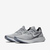 nike epic react flyknit (AQ0067-002) COOL GREY, WOLF GREY, PURE PLATINUM, US11