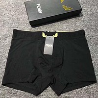 Fendi Men Briefs Shorts Underpants Male Cotton Underwear