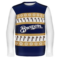 Milwaukee Brewers - One Too Many Ugly Christmas Sweater