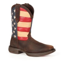 Durango Rebel American Flag Men's 11-in. Western Boots (Brown)