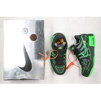 OW x Nike Air Rubber Dunk CU6015-001 Size 40-46
