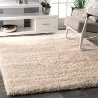 Google Express - The Curated Nomad Balmy Plush Shag Ivory Rug (4' x 6') - 4' x 6'