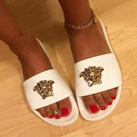 Versace Beach slippers