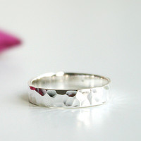 Crystal Shape Silver Ring Sterling Ring .925 Silver Ring Personalized Ring