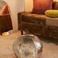 Mermaid Reversible Sequin Pillow Pouf | Urban Outfitters