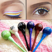 5 Colors Lollipop Shape Waterproof Liquid Eyeliner