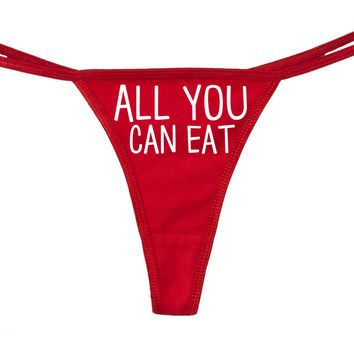 All You Can Eat Thong