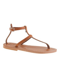 K. Jacques For J.Crew Higgs T-Strap Sandals