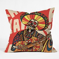 Ali Gulec Mariachi Throw Pillow