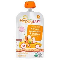 Happy Baby Stage 3 Hearty Meals - Chick Chick Organic Baby Food - 4 oz
