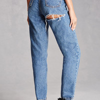 Repurposed High-Rise Jeans