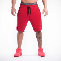Men'S Gyms Sports shorts men summer running fitness trousers basketball quicksuit trousers loose training short M-09