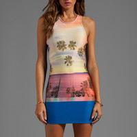Lovers + Friends Lust Tank Dress in Malibu Palm from REVOLVEclothing.com