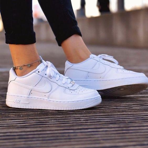Image of Nike air force 1 Multicolor selection Fashion Shoes Trending Sneakers White