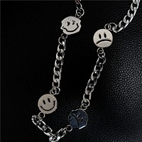 Unisex Hip Hop Titanium Steel Necklace