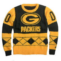 Green Bay Packers Official NFL Women's Eyelash Sweater