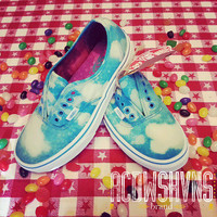Custom Acid Wash Vans (Cloudy Day) - I USE YOUR SHOES