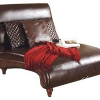 Body Balance System Leather Harmonic Massage Masculine Dual Chaise - modern - chairs - by Hayneedle