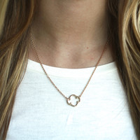 Lucky Girl Necklace (gold)