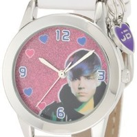 Justin Bieber Women's JB1020 White Strap Watch