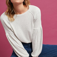 Brushed Long-Sleeve Top