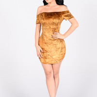 Stacy Dress - Bronze