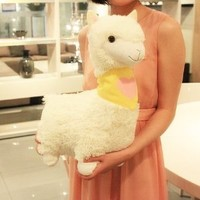 50cm Cute Llama Alpaca Animal Soft Plush Doll Stuffed Toy