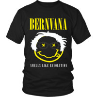 Bernvana- Smells Like Revolution Bernie Sanders Shirt