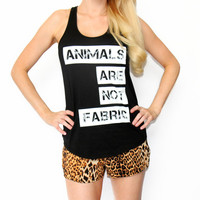 IMPERFECT Animals Are Not Fabric Tops
