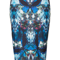 Petite X-Ray Butterfly Tube Skirt - Topshop