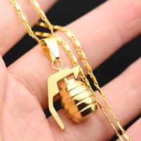Shiny New Arrival Jewelry Gift Hot Sale Titanium Stylish Hip-hop Necklace [10737328771]