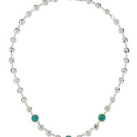 Silver Rock Candy Short Bead & Stone Necklace - Ippolita