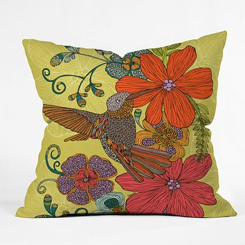 Valentina Ramos Humming Heaven Outdoor Throw Pillow