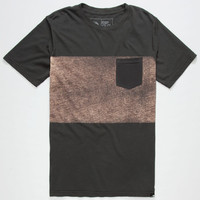 Rip Curl The Strand Mens Pocket Tee Black  In Sizes