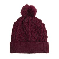 ASOS Bobble Beanie Hat in 100% British Wool