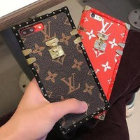 LV 2017 Hot ! iPhone 8 8 Plus iPhone X  - Stylish Cute On Sale Hot Deal Matte Couple Phone Case For iphone 6 6s 6plus 6s plus iPhone 7 iPhone 7 plus iPhone X iPhone XR iPhone XS iPhone XS MAX