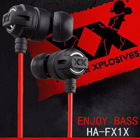 HA-FX1X 3.5mm In-ear sport Earphones Super Bass Headphone hifi running headsets and stereo earbuds for mobile phone MP3 MP4