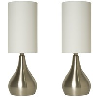 Touch Table Lamp 18 Inches Tall with 3-way Dimmer
