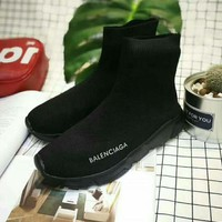 Balenciaga Fashion Women's Casual High-tops Boots Shoes