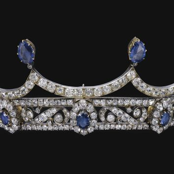 Sapphire and diamond tiara, late 19th century | Lot | Sotheby's
