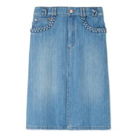 See by Chloé: Denim A-Line Skirt