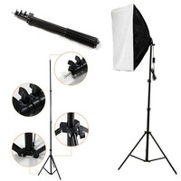 "Flash Light Stand Tripod for Photo Studio Video Lighting Kit Set (Size: 240cm 7'8"" 2.4m)"