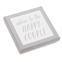 ADVICE TO THE HAPPY COUPLE 25PK: HAPPILY EVER AFTER