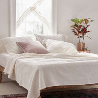 Dotty Daisy Coverlet   Urban Outfitters