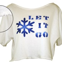 Disney Frozen Inspired Let It Go Top Elsa Anna Hand Made By Cherish B Boutique