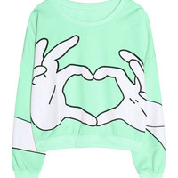 Heart Sign Sweatshirt