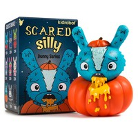 Kidrobot Scared Silly 3-inch Dunny Series by Jenn & Tony Bot SINGLE BLIND BOXED FIGURE